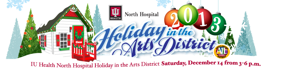 IU Health North Hospital Holiday in the Arts District