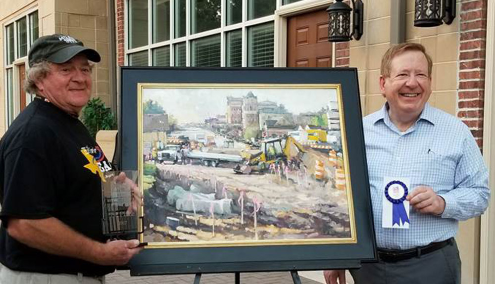 Arts For Lawrence Plein Air Painting