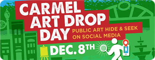 Carmel Art Drop Day